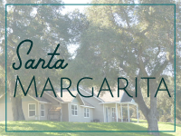 Santa Margarita, California Facts and Information